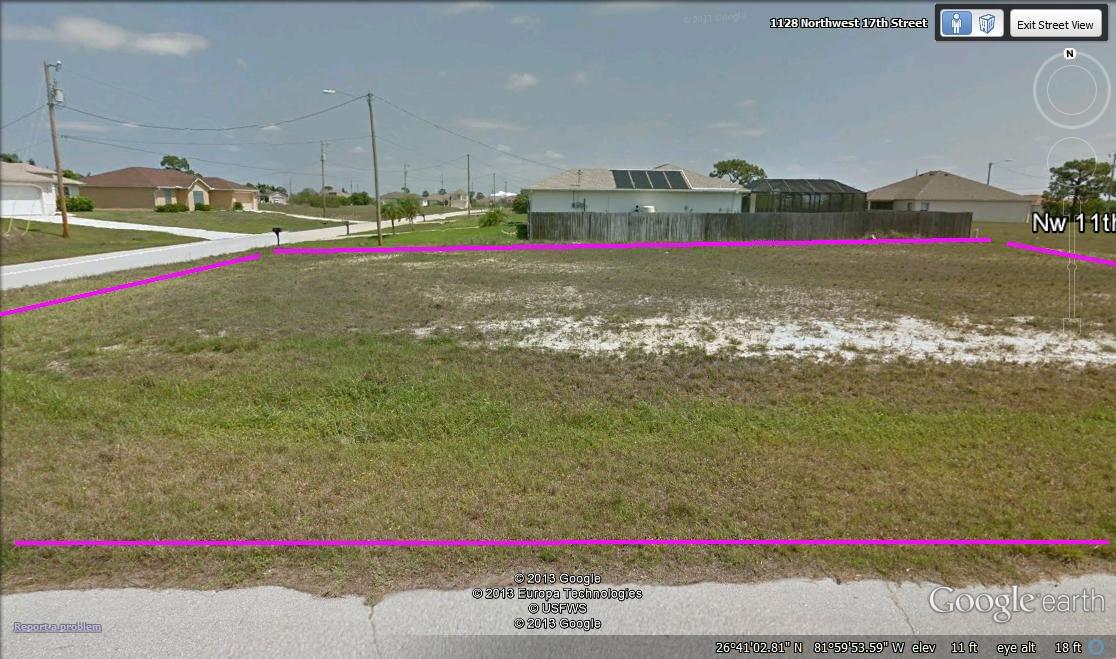 Bid4Assets com > Auction Detail > (646109) Cape Coral Florida corner